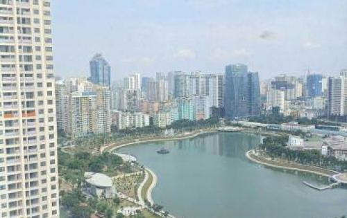 Cho thuê chung cư Thăng Long Number One, căn góc (view Hồ điều hòa TT HNQG)
