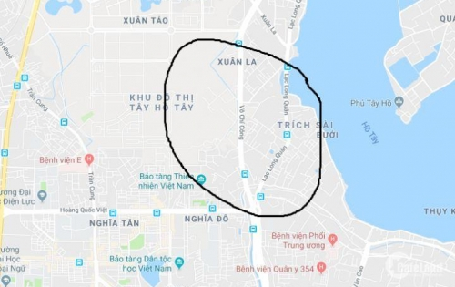 Cho thuê nhà mặt phố Võ Chí Công để kinh doanh – 65 triệu/tháng
