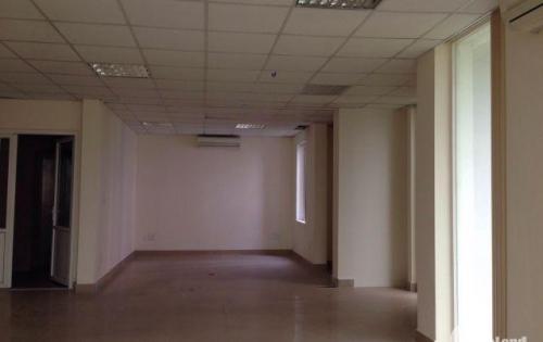 Cho thuê  văn phòng 85m2  mặt đường Thọ Tháp,Trần Thái Tông,mặt tiền 9m2 thông sàn.