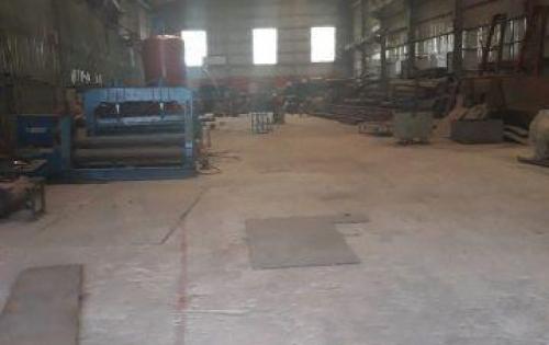 Cho thuê kho xưởng 1.100m2 tọa lạc tại đường Hương Lộ 80, Xã Vĩnh Lộc B, Huyện Bình Chánh