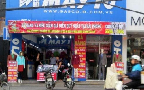 Chính chủ cho thuê MT:8m DT:120m2, thông sàn phố Lê Lợi phù hợp làm showroom thời trang.