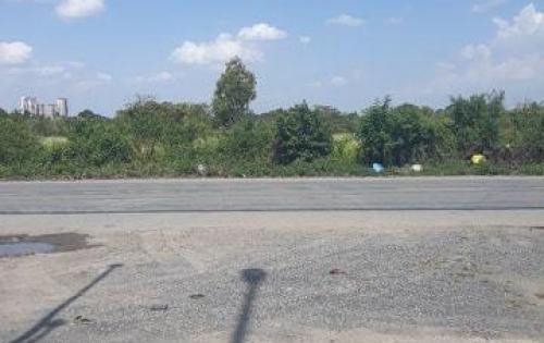 Cho thuê đất làm kho bãi, nhà xưởng 9.000m2 giá 80tr/th, mặt tiền đường Lê Thị Riêng, Quận 12.