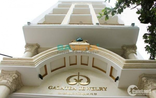 Cho thuê văn phòng Quận 3 - 80m2 MT đường Nguyễn Phúc Nguyên
