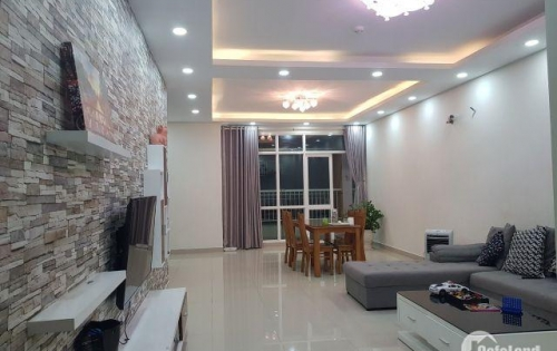 Cho thuê Belleza 127m2: 3PN + 2WC, view Đông Nam thoáng mát nội thất đầy đủ giá 12tr LH 0931442346