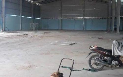 Cho thuê kho xưởng đường Hồ Văn Long, Quận Bình Tân - Diện tích: 5.200m2 - Giá: 80.000vnđ/m2.