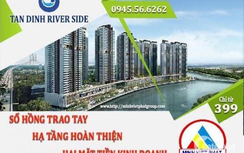 Bảo đảm đất nền khu dân cư TÂN ĐỊNH RIVER SIDE tốt hơn đất nền khu LA CASA
