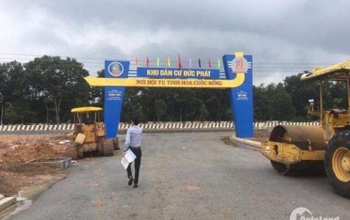 thanh lý gấp 10 lô đất mặt tiền quốc lộ 13 đối diện cổng KCN Bàu Bàng