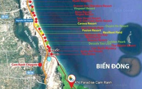Chuẩn bị công bố suất nội bộ siêu dự án tại Bãi Dài Cam Ranh.LH: 0909160018