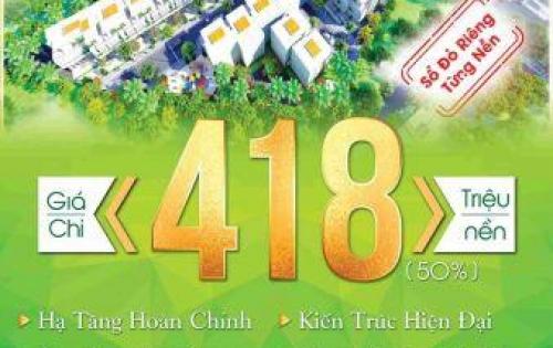 Qúa rẻ chỉ 418tr đã mua ngay được nền đất siêu đẹp ngay tại KCN Cầu Tràm.