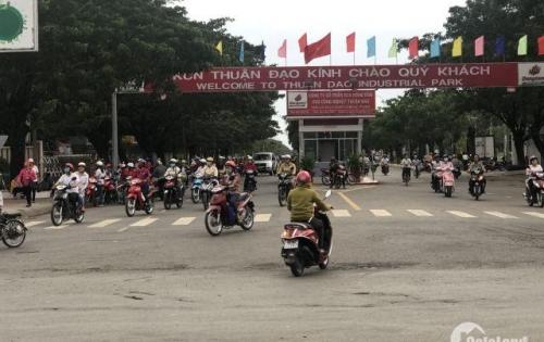 Đất mặt tiền đường Nguyễn Văn Tuôi gần KCN Thuận Đạo, giá 450tr