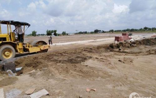 Bán đất nền mặt tiền đường QL 50 Tân Lân, DT 80m2 - 100m2, giá 850Tr/ nền. LH 0934058039