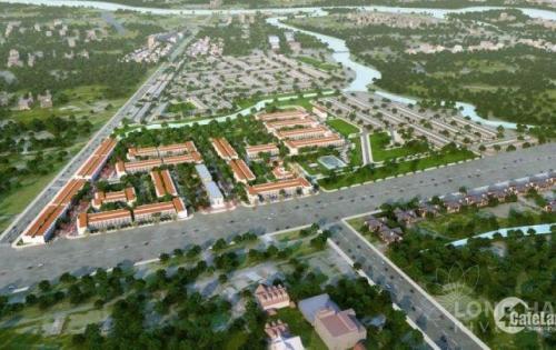 Đất nền Long Hậu, công chứng nhận sổ sau 3 tháng ,xây dựng tự do