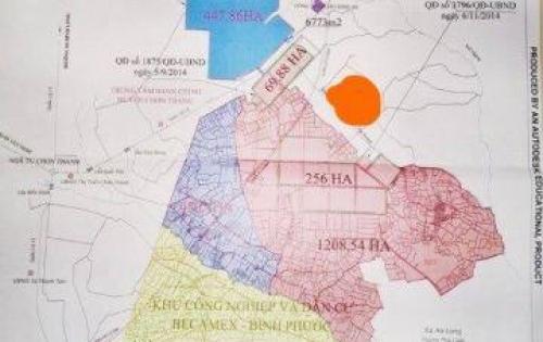 Bán đất gần KCN Becamex giá rẻ