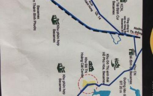 Đất nền Bình Phước – HOT với dự án Khu Đô Thị Hoàng Cát Center. LH: 0963097087