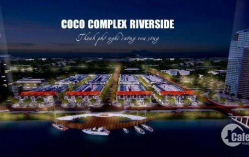 Còn 2 lô liền kề đẹp nhất dự án Coco Complex Riverside, ngay đối diện bãi biển Hà My