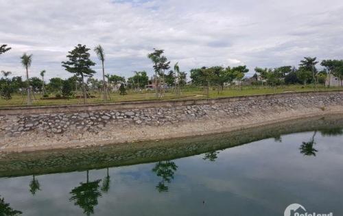 Có lô đất đối diện hồ sinh thái rất đẹp, mặt tiền thoáng mát, giá rẻ.