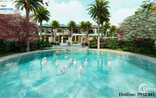 Khu đô thị GrandRiver City nằm ven sông Cổ Cò, phường Điện Nam Trung, Điện Bàn