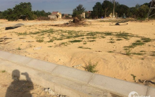 Bán lô đất gần chợ Điện nam trung, đường 27 m, dt 120m2