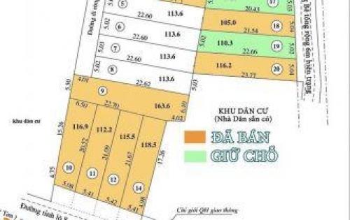 Bán đất phân lô xã Diên Sơn, Diên Khánh giá chỉ từ 3.7tr/m²