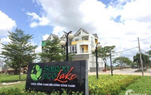 Saigon Eco Lake-Dự án HOT nhất khu VinHomes Tây Bắc SG, cam kết giá trị gia tăng 10% sau 6 tháng