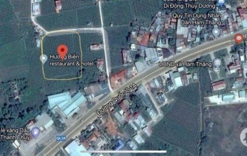 Bán đất ngay UBND xã Hàm Thắng, cách tp Phan Thiết 5p chạy xe máy