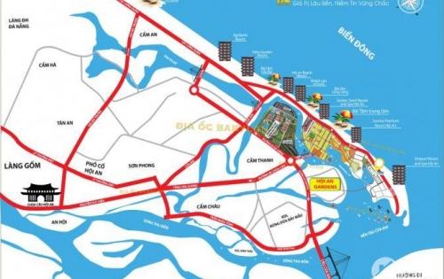 Bán đất biển Cửa Đại, Hội An, view sông, mặt tiền đường, giá rẻ chỉ từ 13.5tr/m2lh: 0898225856