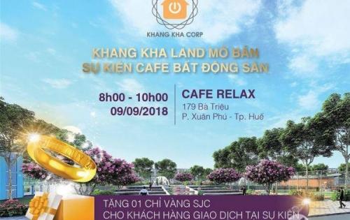 Sự kiện cà phê bất động sản tại 179 Bà Triệu do Khang Kha land tổ chức