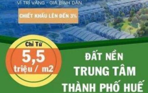 Bán đất trung tâm thành Phố, đường Nguyễn Hữu Cảnh giá 5tr3/m2