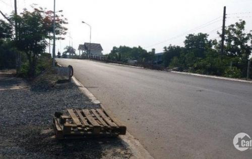 BÁN ĐẤT mặt tiền đường Quốc lộ 1A, huyện Bình Chánh có SHR, Gía 650tr