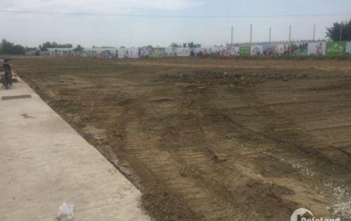 Bán đất thổ cư mặt tiền đường, ngay khu dân cư Vĩnh Lộc B, 80m2 giá 450 TR