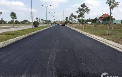 Bán ngay lô đất mặt tiền quốc lộ 50 cách Nguyễn Văn Linh 5ph di chuyển DT 6X20m.