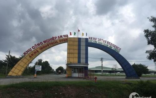 Bán đất KĐT Green City Bình Chánh, dân cư sầm uất, 500tr/nền 80m2, SHR