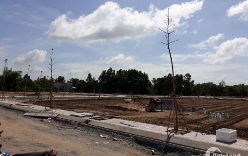 Bán Đất Thổ Cư Huyện Bình Chánh Xã Phong Phú DT 250m2 SHR QL50
