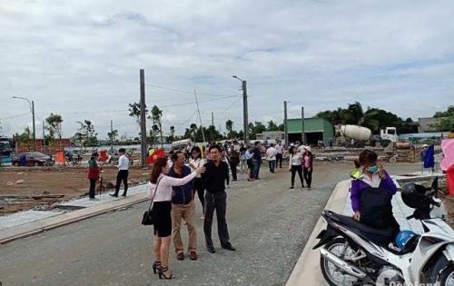 Đất chợ Gò Đen-640tr/nền 100m2-Sổ Hồng Riêng