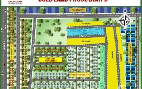 Bán đất nền đầu tư Phước Bình Long Thành Đồng Nai giá chỉ 380 triệu/nền 100m2 xây dựng tự do