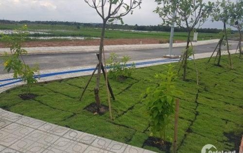 Đất nền Hóc Môn,mặt tiền đường Đỗ Văn Dậy,thổ cư 100%,trả góp 0% lãi xuất,liền kề chợ.