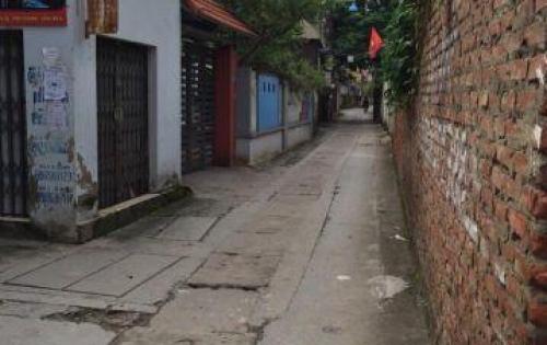 Bán đất Tư Đình-Long Biên.DT 56m2,MT 4.3m, nở hậu, đường ô tô.