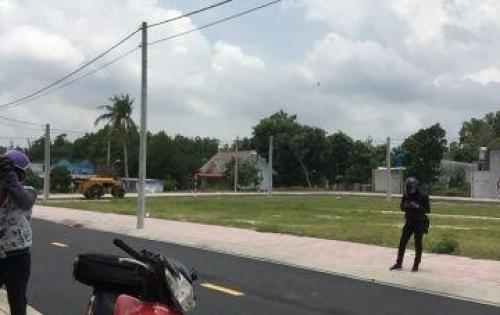 Khu tái định cư mới tại xã Long An mặt tiền quốc lộ 51.