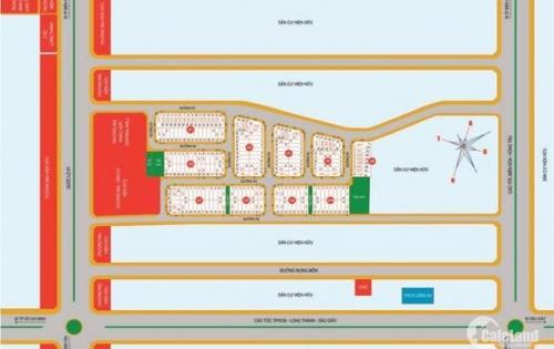 Đất nền Central mall Long Thành thổ cư 100% SHR