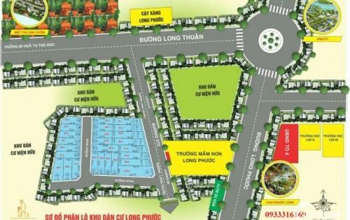 Dự án đường 272 khu dân cư Long Thuận, Long Phước, Quận 9, Hồ Chí Minh, giá 23 triệu/m.
