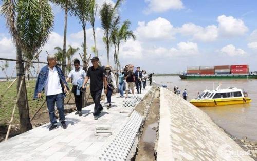 Vietcombank thanh lý 2 lô đất gần sông Sài Gòn giá 20tr/m2. Hỗ trợ trả góp từng đợt. Lh 0935205593