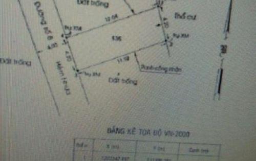 Cần bán gấp lô đất đường số 8, Linh Xuân, quận Thủ Đức, hẻm xe hơi, DT 50m2, LH: 0905774189