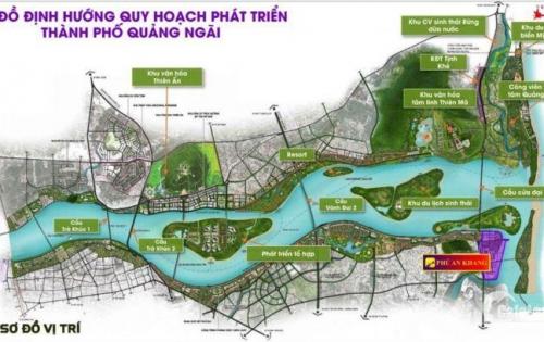 Tiến Phát Land chính thức nhận đặt chổ dự án bờ nam sông Trà Khúc