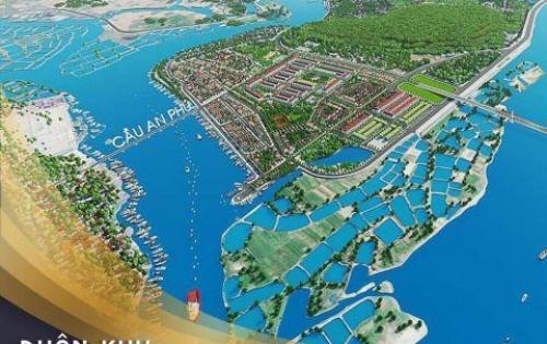 Khu đô thị mới Nghĩa Phú (phân khu đẹp nhất Bờ Nam Sông Trà Khúc)