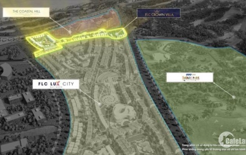 bán lô đất nền biệt thự trong khu flc quy nhơn 216m2, rẻ hơn chủ đầu tư 3.3  view biển mặt tiền đường lớn lh:0969 969 465