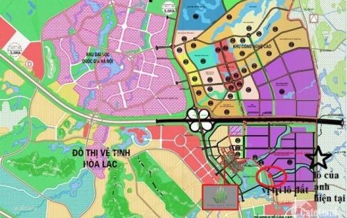 Đất Phú Cát –Quốc Oai – sắp ra vành đai Công Nghệ Cao Hòa Lạc - Thiên đường cho nhà đầu tư.