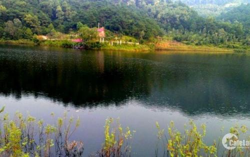 Chỉ 2tr có ngay 8000m2 đất mặt hồ Đồng Đò, mặt tiền 60m,cạnh sân Golf  Hà Nội,xây dựng biệt thự, Resort