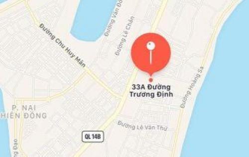 Bán đất chính chủ mặt tiền đường Trần Quang Khải.