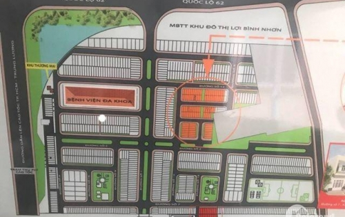 Cần bán đất  khu đô thị LỢI BÌNH NHƠN giá 600tr/nền