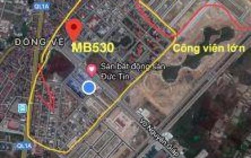 Cần tiền bán nhanh lô đất thuộc MB530 - đối diện Mường Thanh - phường Đông Vệ thành phố Thanh Hóa.